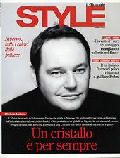 * STYLE by IL GIORNALE OTT.2011* MICHELE MOLON - CADEL EVANS - G.RICCARDO MARINI