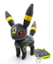 "8"" New Pokemon Eevee  UMBREON Plush Toy Doll Rare Soft Grey"