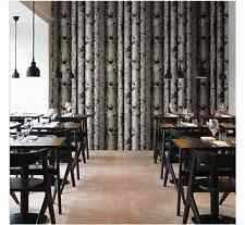 WALLPAPER FEATURE WALL PAPER TREE BARK WOOD PANELS NATURE OUTDOOR 10M ROLLS