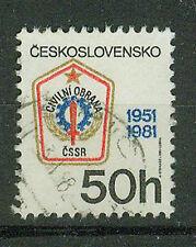 Tschechoslowakei Briefmarken 1981 Zivil- Luftschutz Mi.Nr.2627