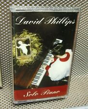 DAVID PHILLIPS Solo Piano cassette tape NEW Christian 1994 We Three Kings