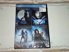 NEW Underworld Quadrilogy 1 2 3 4 Evolution Rise Of The Lycans Awakening DVD Set