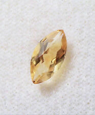 VERY NICE 8 x 4 mm MARQUISE CUT GOLD CITRINE BRAZIL