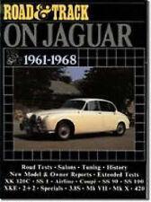 Book - Road & Track on Jaguar 1961-1968 XK 120 VII X 420 S - New copy Brooklands