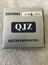 QJZ Lawnmower Bearings 6304-2RS ISO9002 20mm Radial Flat Outer Race