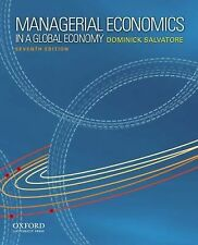 Managerial Economics In A Global Economy Dominick Salvatore 7th seventh edition