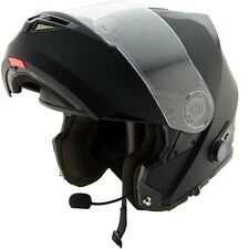 HAWK H7000 BLUETOOTH MODULAR DUAL VISOR HELMET SIZE LARGE-LIMITED SPECIAL-GLOSS