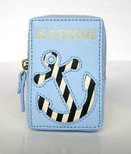 Kate Spade Expand Your Horizons Overboard Anchor Coin Purse Card Case Wallet NWT