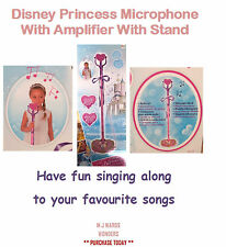 Disney Princess Microphone With Amplifier With Stand Childrens Girls Playset