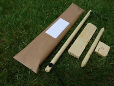 Bow Drill Set, Bushcraft, Survival, Wilderness, Fire Lighting