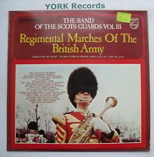 BAND OF THE SCOTS GUARDS - Regimental Marches Of The British Army Vol 3 - Ex LP