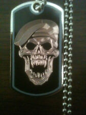 CALL OF DUTY BLACK OPS ZOMBIE GAMER DOG TAG NECKLACE