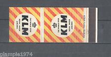 ATRIA KLM Royal Dutch Airlines Matchbox Labels/Lucifer-Etiketten