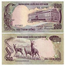 SÜD VIETNAM SOUTH VIETNAM 200 DONG 1972 UNC P 32