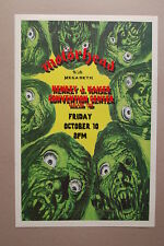 Motorhead Concert Tour Poster 1986 Henrey J. Kaiser Convention Center Megadeth