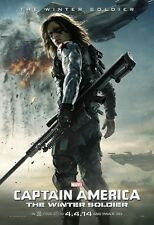 Captain America poster - The Winter Soldier poster - 11 x 17 inches