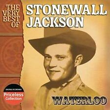 Very Best of Stonewall Jackson: Waterloo, Jackson, Stonewall, Very Good CD