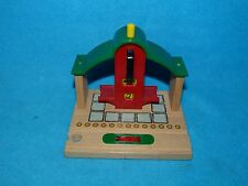 BRIO Train Station Wooden Railway Accessories Ticket Office