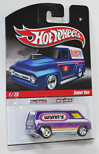 Hot Wheels Delivery Slick Rides Super Van Wynn's Purple REAL RIDERS 1:64