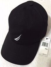 Nautica Men's Baseball Cap One Size  Black   (6289)