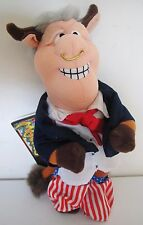 Infamous Meanies Bean Bag Plush Stuffed Animal Toy Doll Bill Bull Clinton 1998