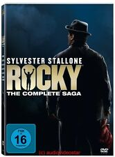 ROCKY Collection Teil 1+2+3+4+5+6 SAGA DVD BOX - NEU  in Folie