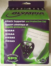 Olympia Sports Athletic Support/Jock Strap & Protective Groin Cup Box - Cricket