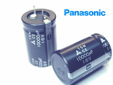 4x 10000uF 16V Panasonic - TSW long life snap in Audio Capacitos  x 4 pieces