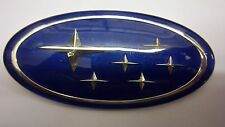 Subaru Legacy Forester Blue STI Wrx Grill Grille Badge Emblem