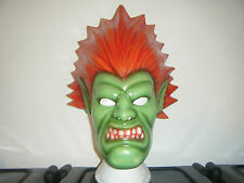 BLANKA STREET FIGHTER GAME MASK NEW MOVIE REPLICA LIFE SIZe ADULT CHILD COSPLAY