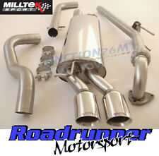 Milltek Leon Cupra 1.9 TDI Exhaust Downpipe & Cat Back Non-Res LOUDER Twin GT80