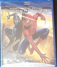 Blu Ray film Spiderman 3 , new and unused Starring Tobey Maguire