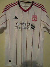 Liverpool 2010-2011 Away Football Shirt Size Medium Adult /39667