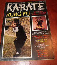 Tommy Kay's BIG BOOK OF KARATE Magazine Kung Fu BRUCE LEE May 1975