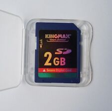 2GB KINGMAX scheda di memoria SD Standard Blu Sicurezza Digitale SD 2G Originale