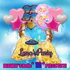 12 Item Beauty and the Beast Belle Disney Princess Birthday Party balloon