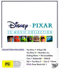 Disney Pixar 13 Movie Collection Boxset Brave Toy Story Monsters Inc Nemo Cars++
