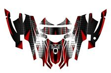 Arctic Cat Sabercat Firecat Graphics 2003 2004 2005 2006  F5 F6 F7 #1900 Red