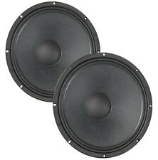 "Pair Eminence Legend CA154 15"" Bass Guitar Speaker 4ohm 97dB 2.5""VC Replacement"
