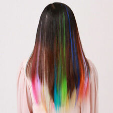 A+++ Cool Cheap Colorful Women Highlight Hairpieces Clip in Hair Extensions 5pcs