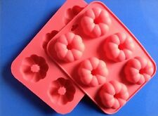 1pcs New style Pumpkin Flowers Silicone Cake/Pudding/Jelly Bakeware DIY Mould