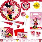 Minnie Mouse Party Decoration Children's Birthday Motto Minnie Mouse red Party