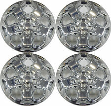 "(4) FORD FUSION 17"" CHROME HUBCAPS / WHEEL COVERS /  WHEEL CAP 457-17 C"