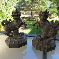 Chinese Guardian Imperial Lions - Feng Shui Foo Dogs