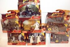 INDIANA JONES RAIDERS OF LOST ARK FIGURE RARE TAIL ENDERS DELUXE LOT of 7 cairo