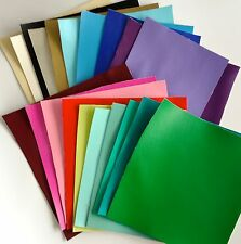Faux Leather Leatherette Scrap Pack - 20 pieces per pack. Perfect for bow making