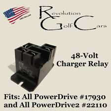 48 Volt Charger Battery Charger Relay, Fits Club Car 48 Volt Chargers 103414901