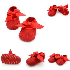 @*Candy Colors Laces Baby Toddler Shose Soft Sole Infant Girls Crib Shoes RD13