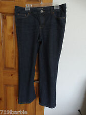 Venezia women's stretch bootcut denim blue jeans size 3 Petite