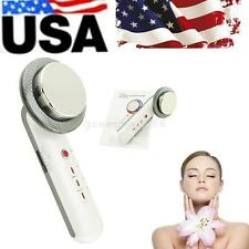 USA 1Mhz Ultrasonic 3in1 Ultrasound Cavitation Beauty Care Facial/Body Slimming
